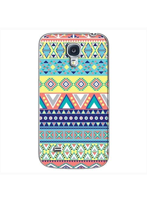 People's Cover Samsung S4 Mini Kabartmalı Kapak Renkli